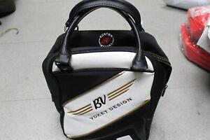Titleist Vokey Design Wedge Black White Gold Embroidered Shag Bag Brand New
