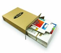 NEW BCW POW ART Short Cardboard Comic Storage Box case of FIVE (5) POW ARTWORK