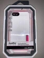 Incipio DualPro Case for Apple Iphone 5/5s/SE- White/Pink