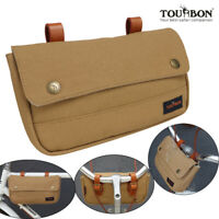 Bike Front Handlebar/Saddle/Frame/Rear Rack Pouch Bag Classical Cycling-TOURBON