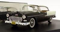 Vitesse 1/43 Scale V98072 - 1955 Chevrolet Bel Air - India Ivory/Black