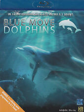 [NEW] BLU-RAY DVD: BLUE MOVE: DOLPHINS