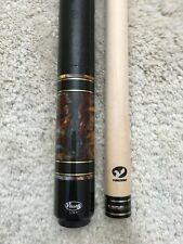 IN STOCK, Viking A530 Pool Cue w/Vikore Low Deflection Shaft, Leather, FREE CASE