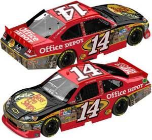 TONY STEWART #14 Bass Pro - Office Depot CAMO 2011 Impala NASCAR 1/24 Diecast