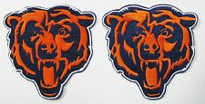 (1) LOT OF (2) NEW NFL CHICAGO BEARS LOGO EMBROIDERED PATCHES ITEM # 04