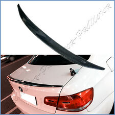 Fit 07-13 BMW E92 Coupe 328i 330i 335i M3 P Type Carbon Fiber Rear Spoiler Boot