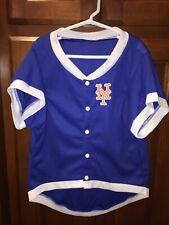 New York Mets Hunter Pet Gear JERSEY Blue Top Sz XL NEW NWT METS #01