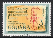 España estampillada sin montar o nunca montada 1975 SG2328 13th Congreso Internacional de América notarios