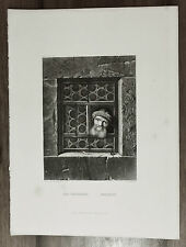 ANTICA STAMPA - CURIOSITY- CURIOSITA' - A.H.PAYNE 1850c