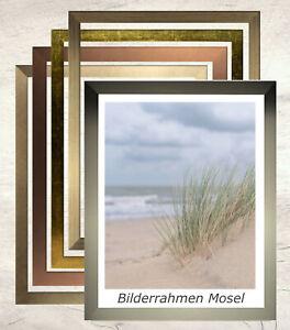 Bilderrahmen Mosel MDF 28 x 35 cm mit Farbwahl und Verglasungsoptionen