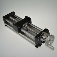 NEW 100mm Manual Sliding Table SFU1605 Ballscrew Linear Stage Actuator US