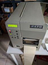 Sato código de barras Printer m-8400 etiquetas impresora dispenser rs232 Centronics m8400