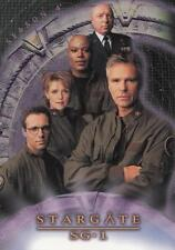 2002 Stargate Season 4 promo trading card P1