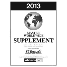 2013 H.E. Harris Master Worldwide Album Supplement