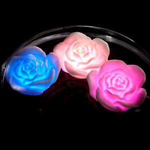 Floating Rose Bath Glows