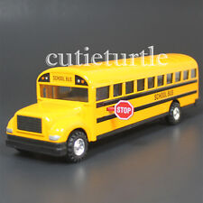 "8.25"" Long School Bus Diecast Toy Car Yellow 9948 D"