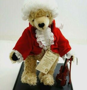 "HERMANN WOLFGANG MOZART LIMITED EDITION 17"" TEDDY BEAR NO 131 OF 500 WITH CASE"