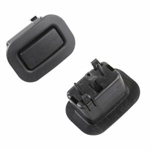 Pair Rear Right Left Seat Recliner Button Black for 2009-2013 Subaru Forester