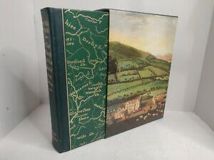 A Tour Through The Whole Island Of Great Britain Folio Society Daniel Defoe Slip