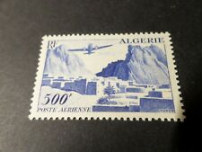 ALGERIA 1949/53, STAMP AIR 12, new , PLANE, VF MNH AIRMAIL STAMP