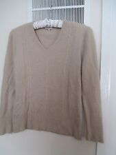 angora jumper size large country casual beige lovely design
