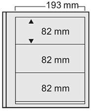 SAFE 7123 Eurosystem 10 Blatt mit 3 Querstreifen