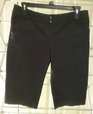 NY&C 7th AVENUE Pre-owned Women's Blue Stretch Bermuda Short Size 2 (D5)