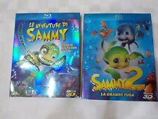 LE AVVENTURE DI SAMMY 1 e 2 (3D) - (2 FILM in BLU-RAY) - COMPRO FUMETTI SHOP