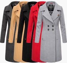 Navahoo Damen Business Mantel Trenchcoat woll winter Jacke übergangs mantel  Lang 990722e535