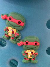 2 Michelangelo Teenage Mutant Ninja Turtles Shoe Charms. Free UK P&P
