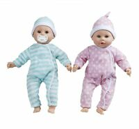 Melissa & Doug Mine To Love Luke & Lucy Twins Twin Set of Baby Dolls Doll 38cm