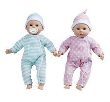 Melissa & Doug Mine To Love Luke & Lucy Twins Twin Set of Baby Dolls Doll 38cm