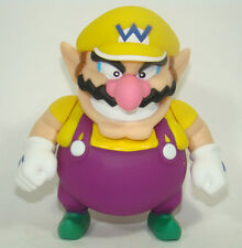 Super Mario Brothers WARIO Movable Action Figure Plastic Toy 12CM