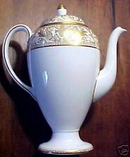 Wedgwood FLORENTINE GOLD Coffee Pot with Lid