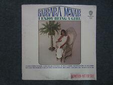 I Enjoy Being A Girl Barbara McNair~WHITE LABEL PROMO Soul/R&B/Funk~FAST SHIP!!!