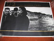 U2  POSTER > JOSHUA TREE British 29x39 > NICE !!