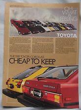 1981 Toyota Original advert
