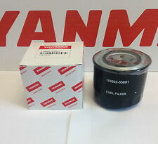 Genuine Yanmar Fuel Filter 119802-55801, Excavator.