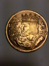 1996 Rex Mardi Gras Doubloon Collectable From Krewe Of Rex, Nola 1 00004000 996