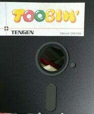 Toobin (Tengen 1989)  C64 (Diskette) 100% ok Classic-Game