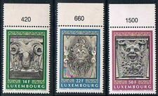 Luxembourg 1992 Mi N°1299 - 1300 - 1301 Mnh**  Architecture