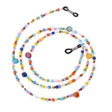 Fashion Women Colored Beaded Eyeglass Chain Reading Glasses Eyewear Cord Holder