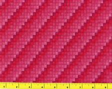 Shades of Red Diagonal Squares By The Yard CSHSQU04955