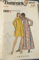 Butterick 6949 Misses Robe Long and Short Size 18  Bust 40 Uncut Sewing Pattern