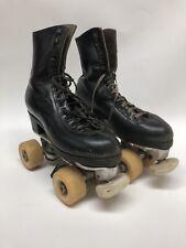 Snyder's Super Deluxe Skates Black Vanguard Performance Wheels
