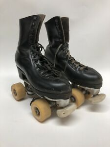 Snyder's Super Deluxe Skates Black Vanguard Performance Wheels