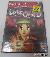 DARK CLOUD (Sony PlayStation 2 2001) SEALED New! PS2 RPG CIB!!