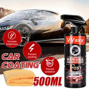 🇦🇺500ML Shine Armor Ceramic Spray Car Polish Spray Top Coat Quick Nano Coating