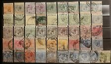 CYPRUS / Lot of 46 Stamps Used King George V !!