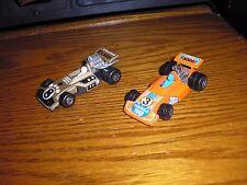 RARE Lot of 2 Vintage Matchbox 1/64 IRL Indy Grand Prix F1 Racers Formula 5000